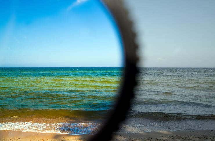 Digital Photography Tip - Polarizing Filter