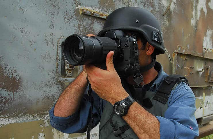 James Nachtwey - Famous Photojournalist