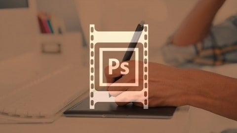 Step by Step Gif animation in Photoshop course from Udemy