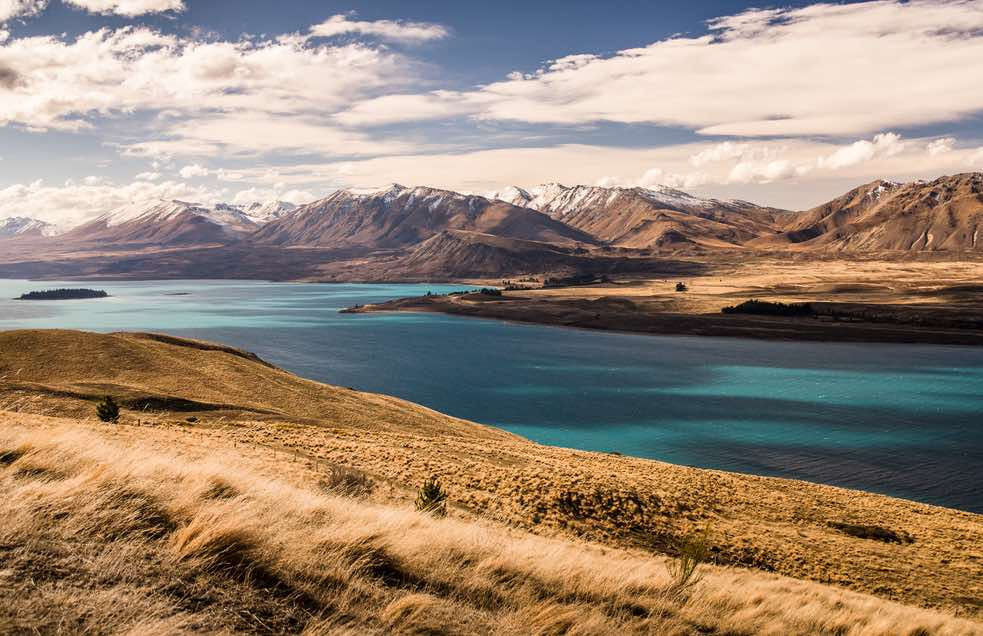 crisp and dynamic landscape of New Zealand using advanced photography settings.