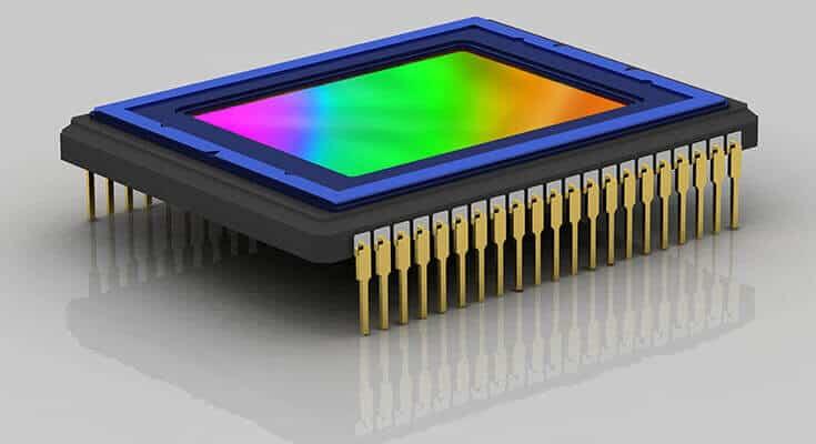 CCD Digital camera sensor