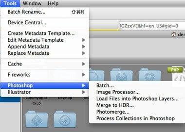 Photoshop Batch Process