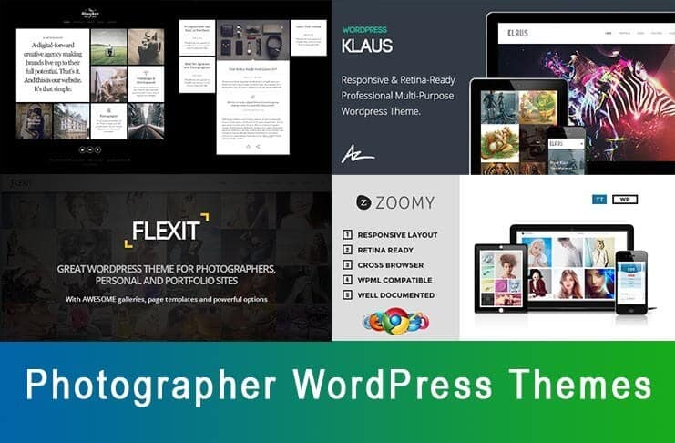 Photographer WordPress Themes