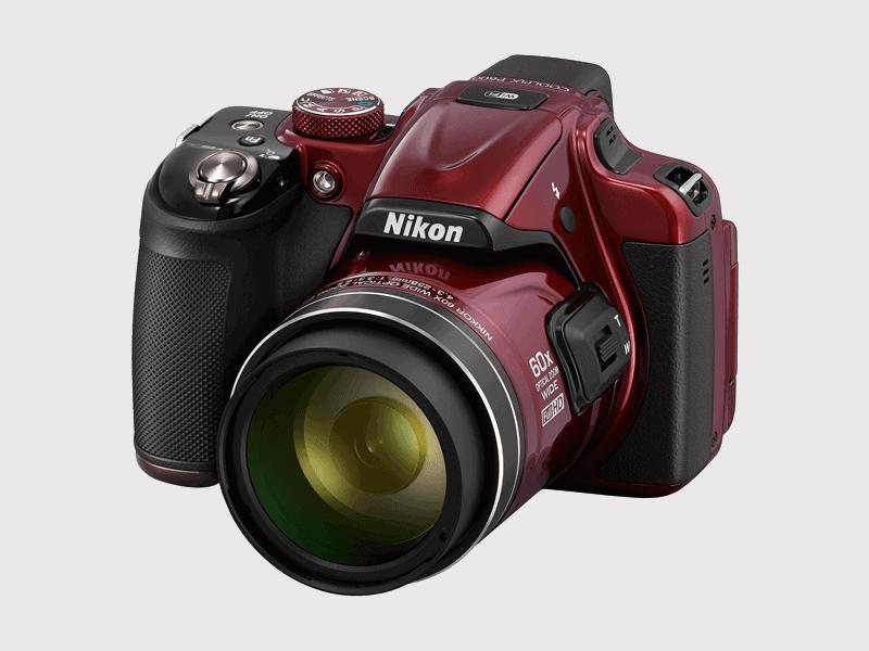 Nikon Coolpix P600 side
