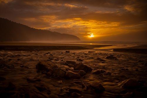 Jackson Creek Sunset by Luke Detwiler