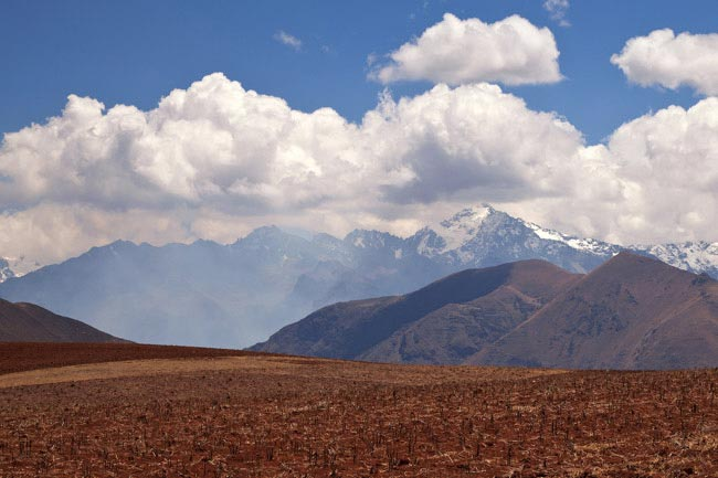 Landscape in Peru, near Moray and Maras by unukorno