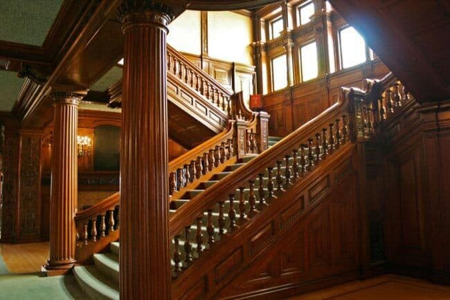 Grand staircase by Minnesota Historical Society