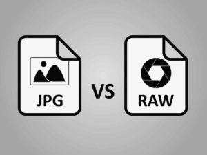 jpg vs raw images illustration