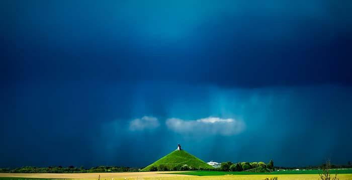 Rain Photography Tips - Look to the sky