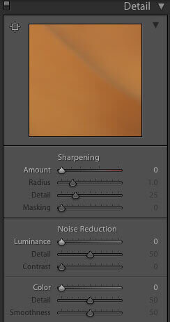 Post Production in Lightroom - detail setting