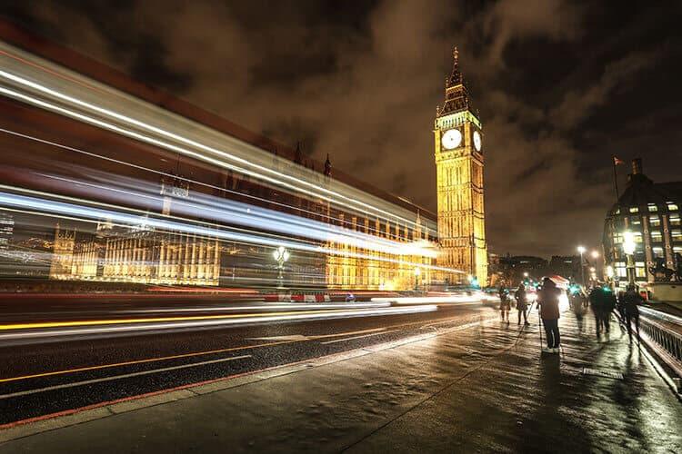 Long Exposure Photography- Big Ben London