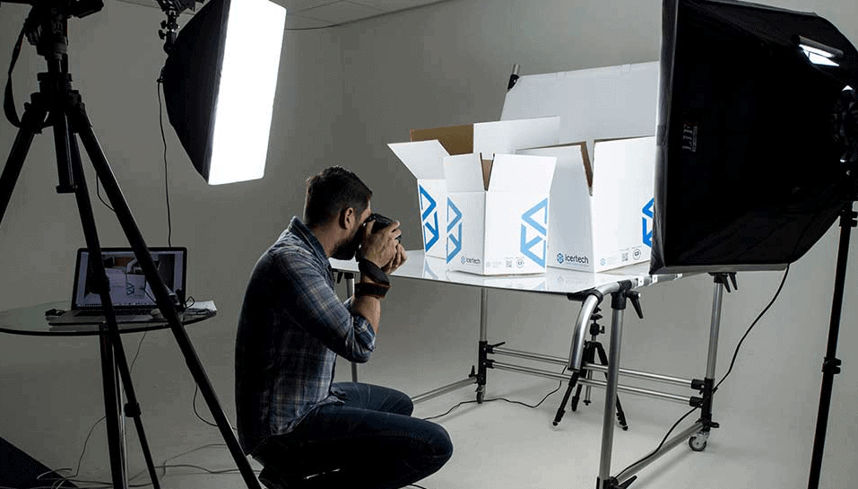 product photography tips in studio